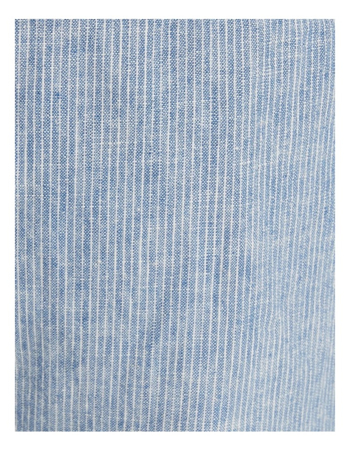 The Maddox Stripe Linen Blend Pant Blue image 6