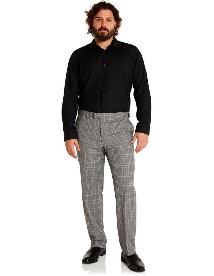 Duke Check Stretch Dress Pant Grey image 5