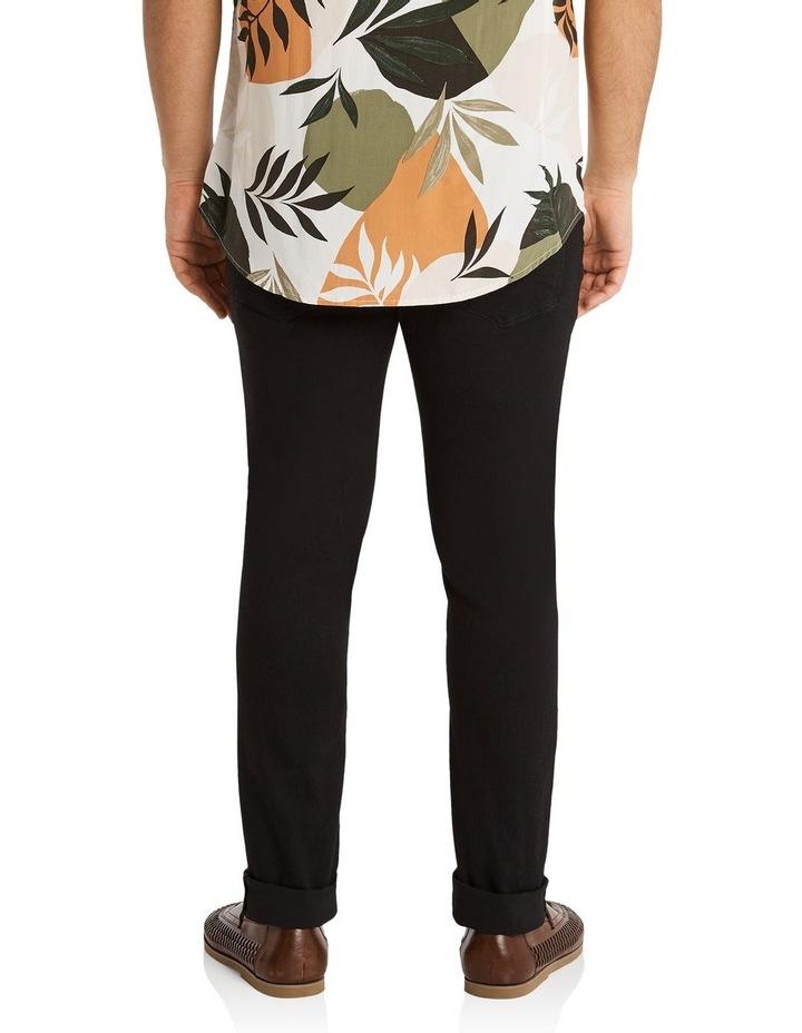 Hunter Superflex Slim Denim Jeans Black image 3