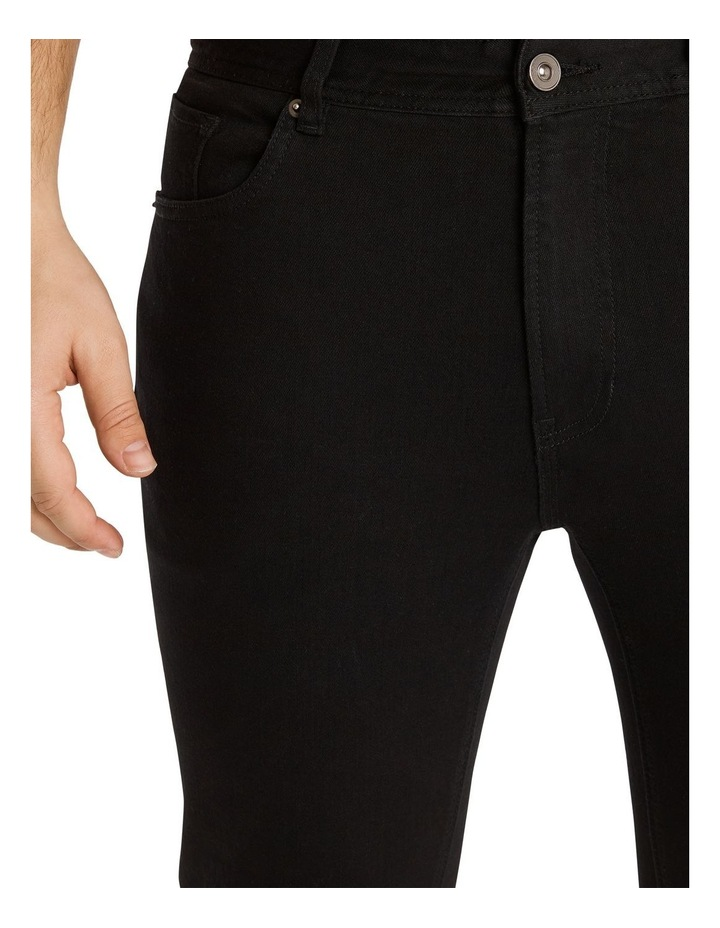 Hunter Superflex Slim Denim Jeans Black image 4