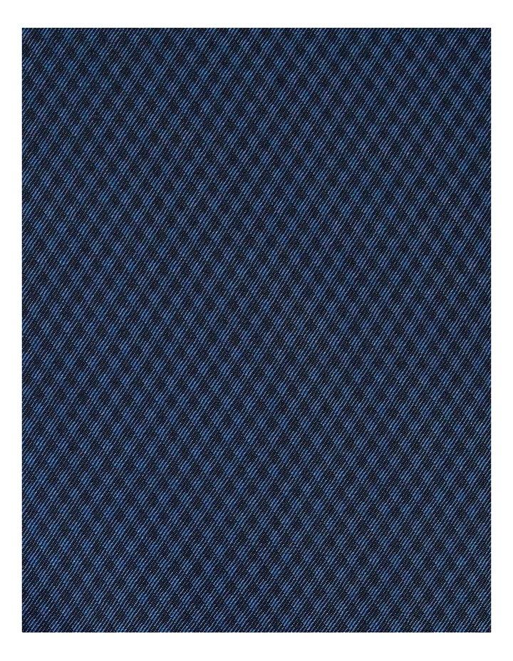 The Boston Textured Bamboo Blend Shirt Navy image 6
