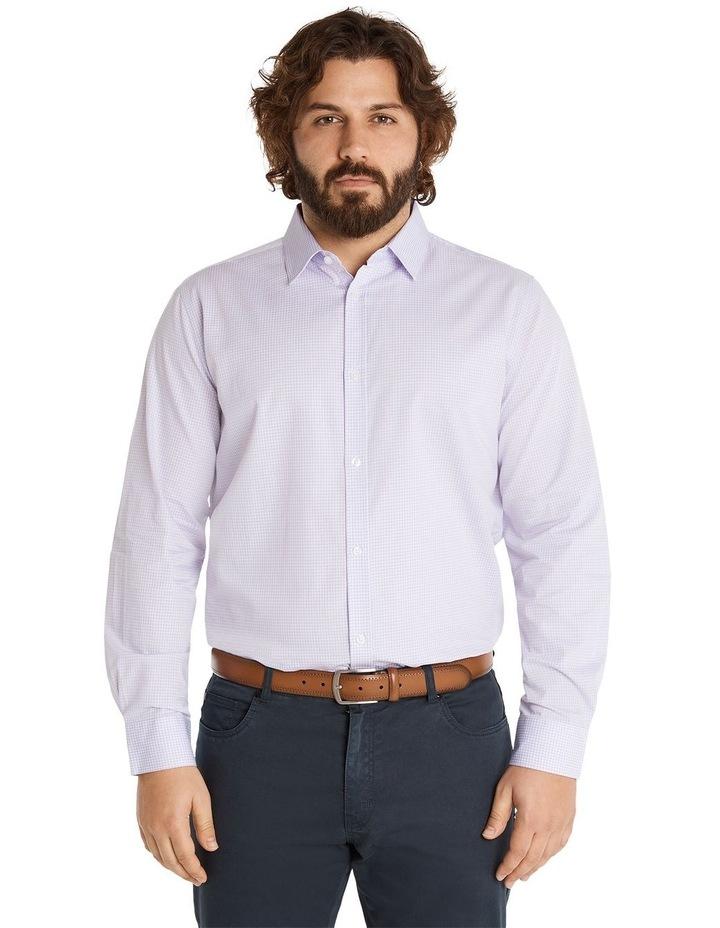 Miles Mini Gingham Shirt Lilac image 1