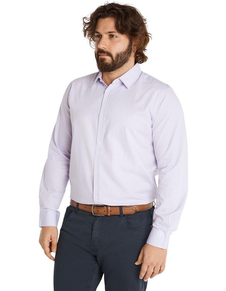 Miles Mini Gingham Shirt Lilac image 2