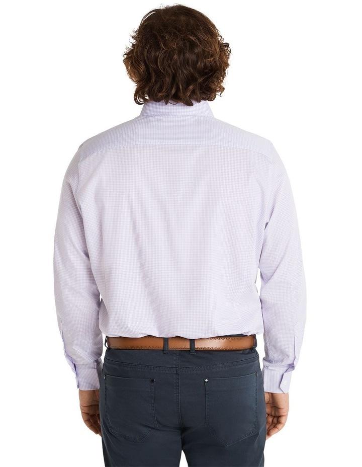 Miles Mini Gingham Shirt Lilac image 3