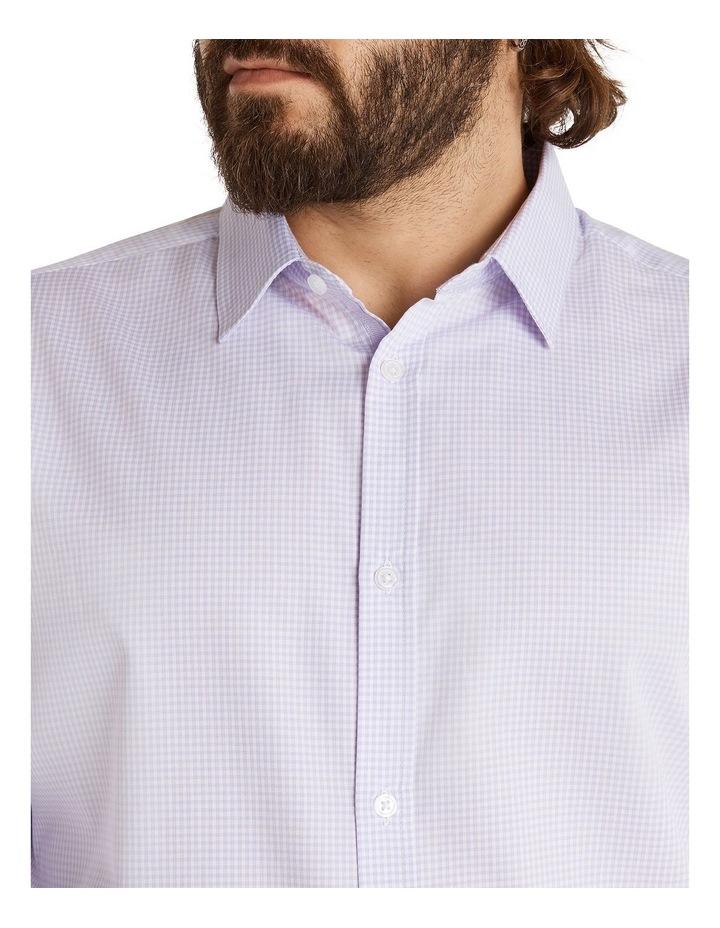 Miles Mini Gingham Shirt Lilac image 4