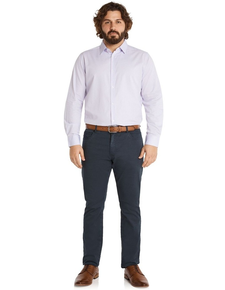 Miles Mini Gingham Shirt Lilac image 5
