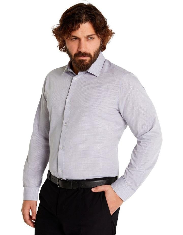 Jacquard Geo Shirt Silver image 2