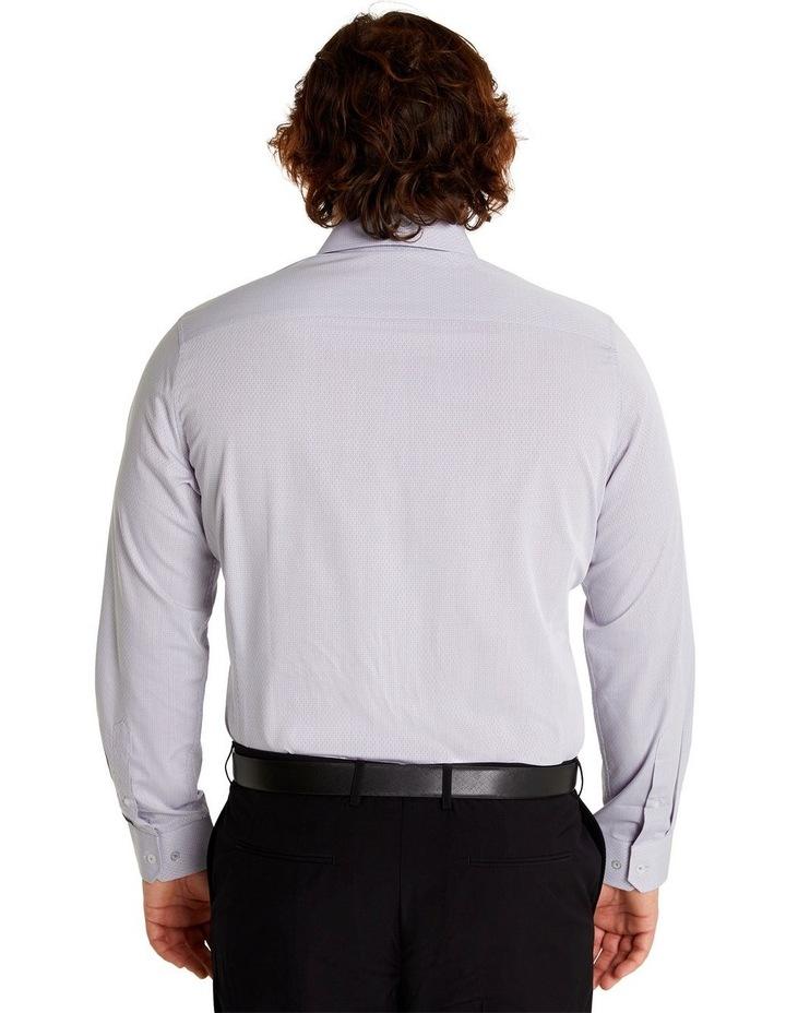 Jacquard Geo Shirt Silver image 3