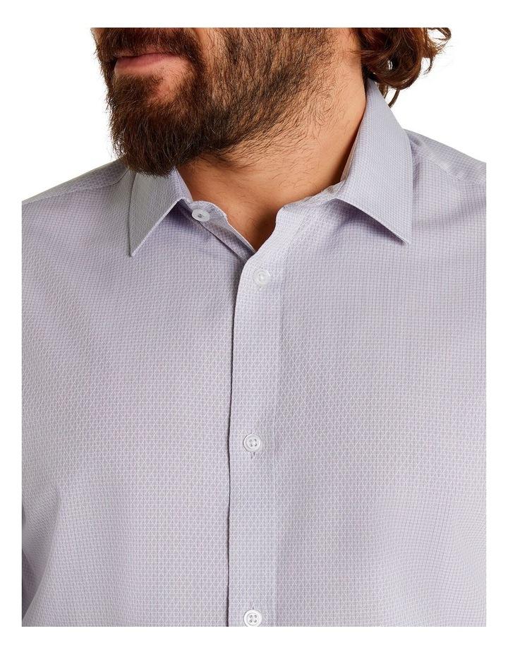 Jacquard Geo Shirt Silver image 4