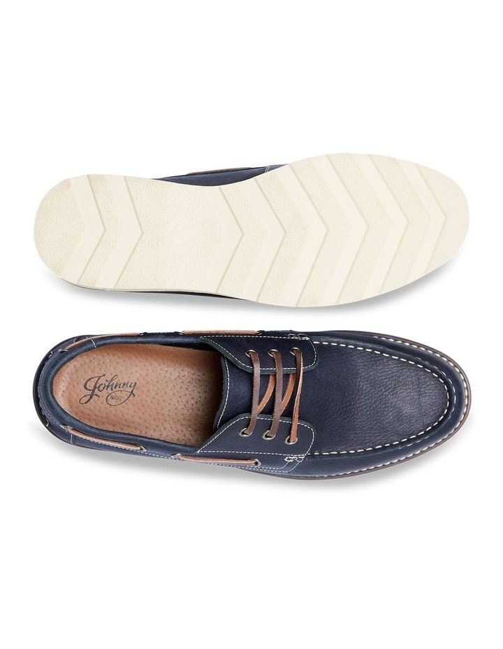 Anchor Leather Boat Shoe Navy image 5