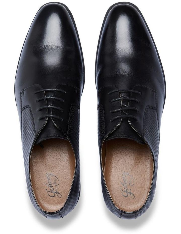 Verona Textured Dress Shoe Black image 4