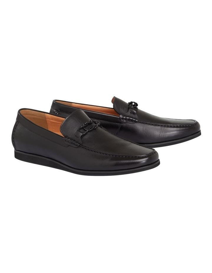 Knox Leather Loafer Black image 1