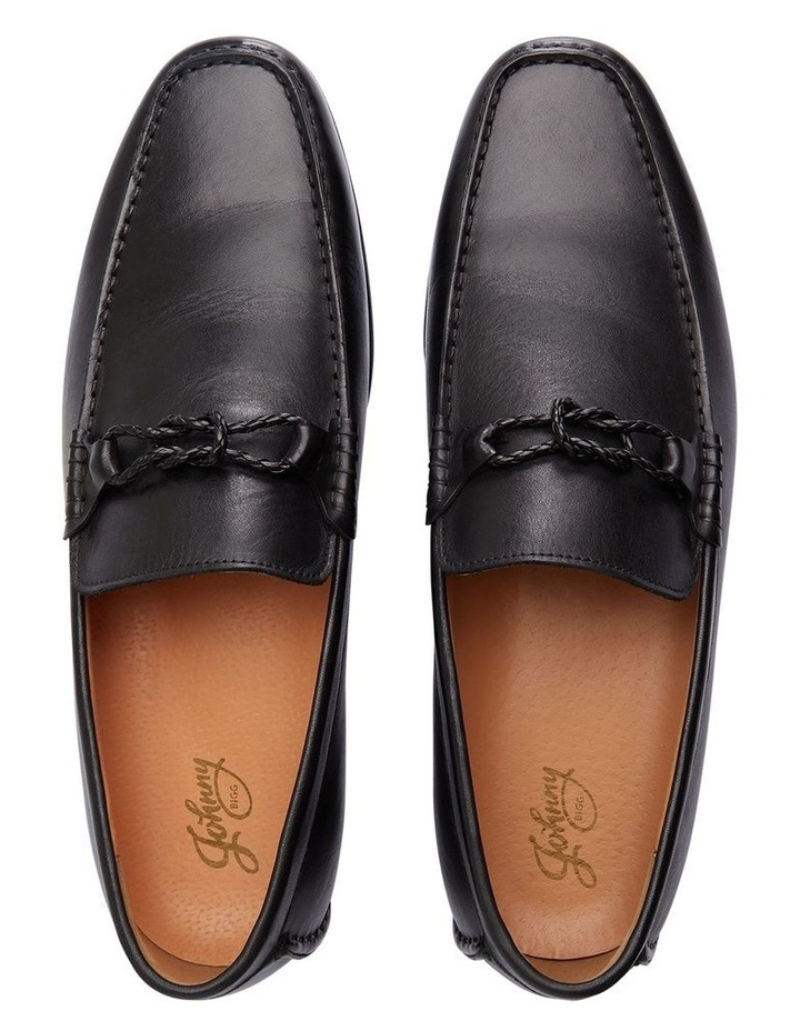 Knox Leather Loafer Black image 2