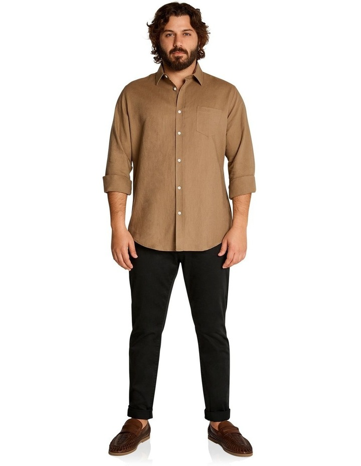 Anders Linen Shirt Toffee image 5