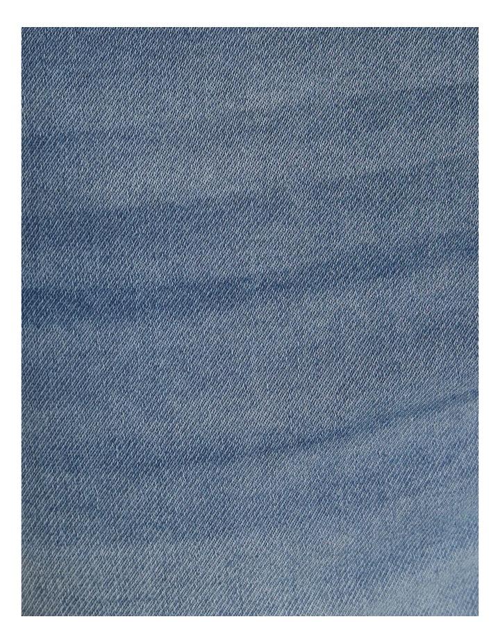 Deran Knit Denim Short Blue image 6