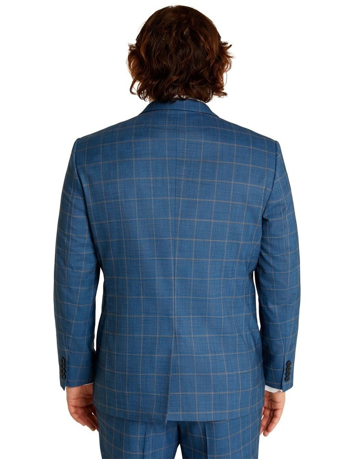 Darcey Check Stretch Suit Jacket Blue image 3