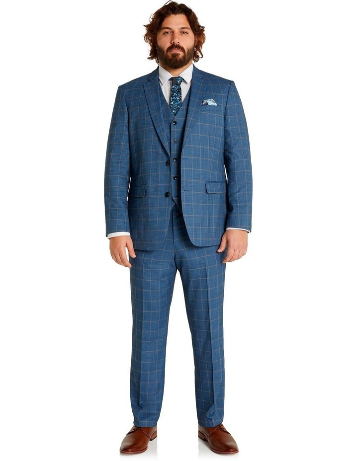 Darcey Check Stretch Suit Jacket Blue image 5