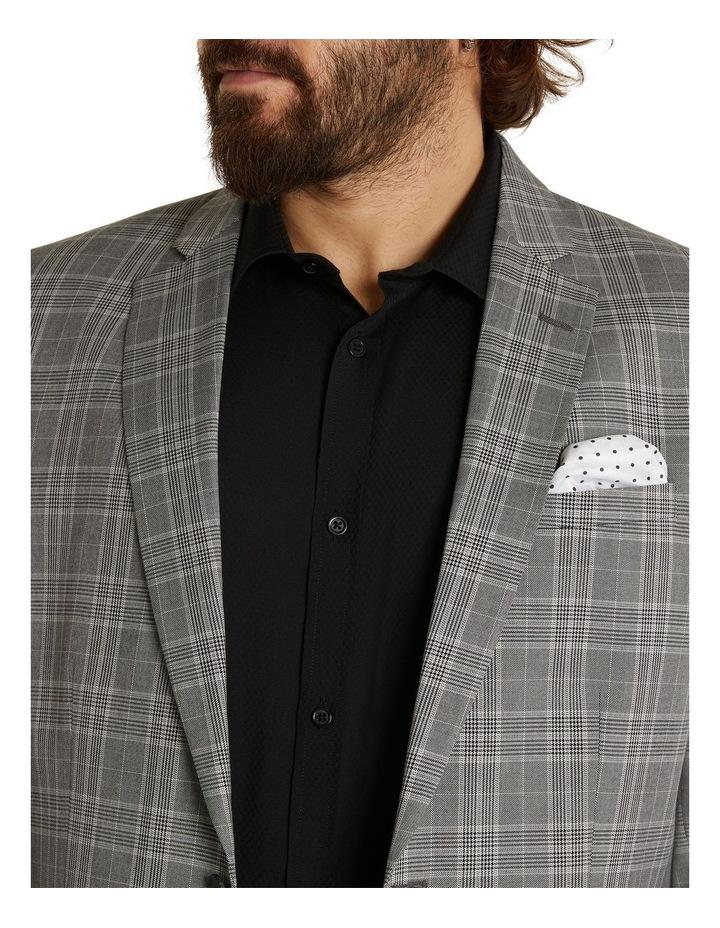 Duke Check Stretch Suit Jacket Grey image 4