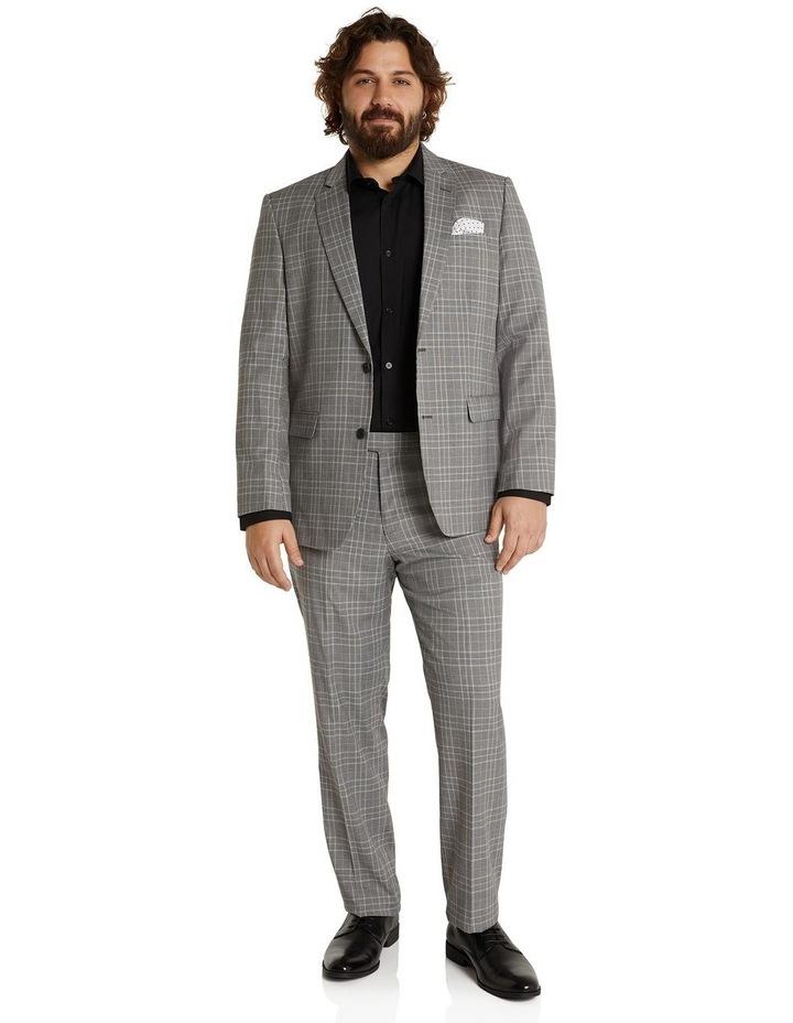 Duke Check Stretch Suit Jacket Grey image 5