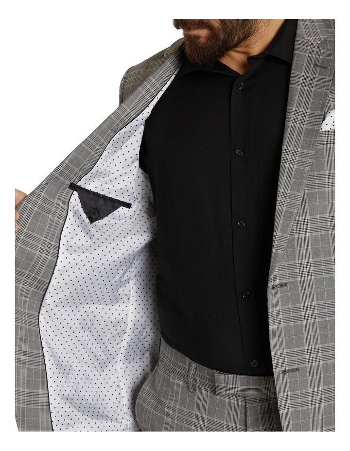 Duke Check Stretch Suit Jacket Grey image 6