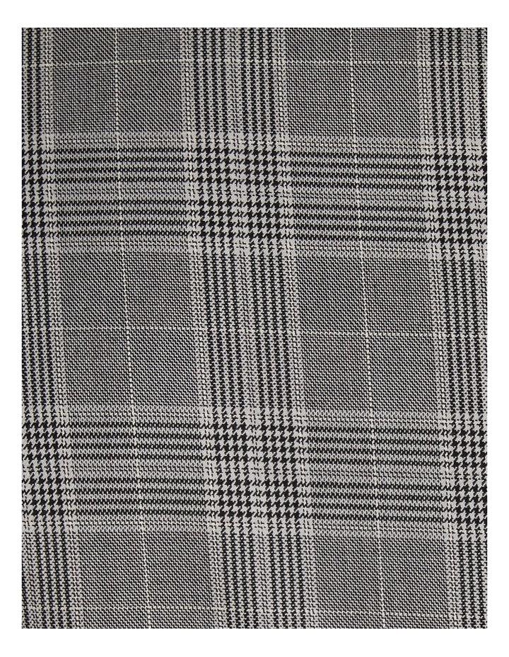 Duke Check Stretch Suit Jacket Grey image 7