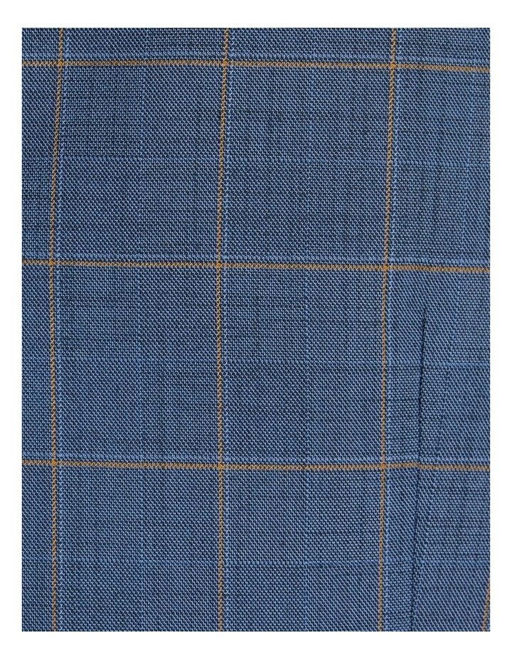 The Darcey Check Stretch Waistcoat Blue image 6