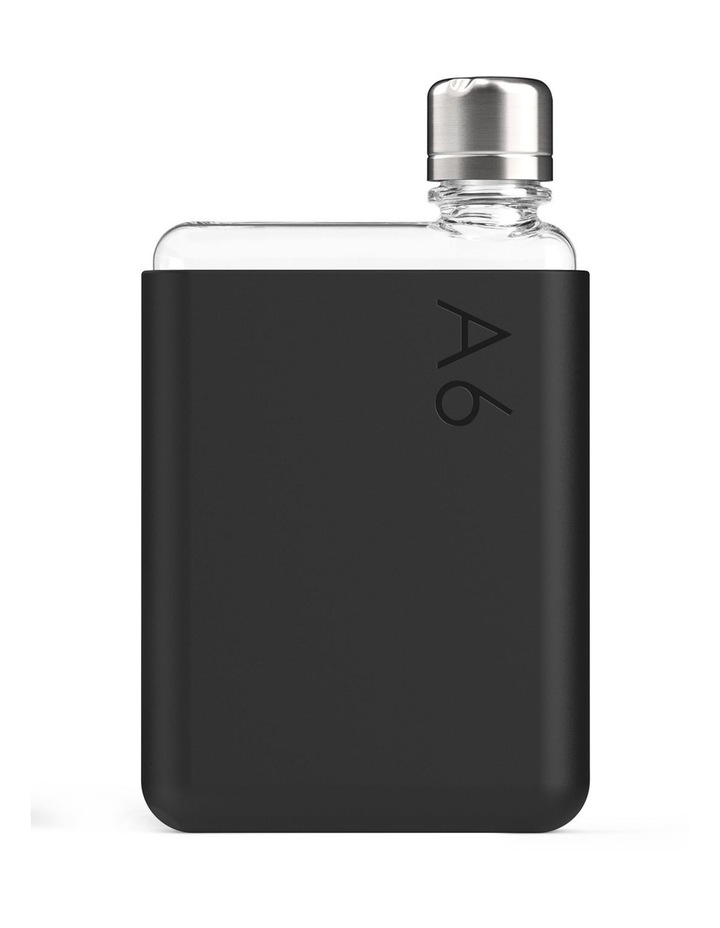A6 Black Ink - Silicone sleeve Memobottle image 1