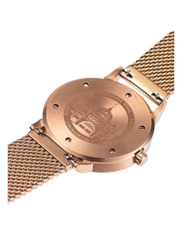 Melbourne Watch Company Flinders Heritage Modern Rose (Steel Band) image 3