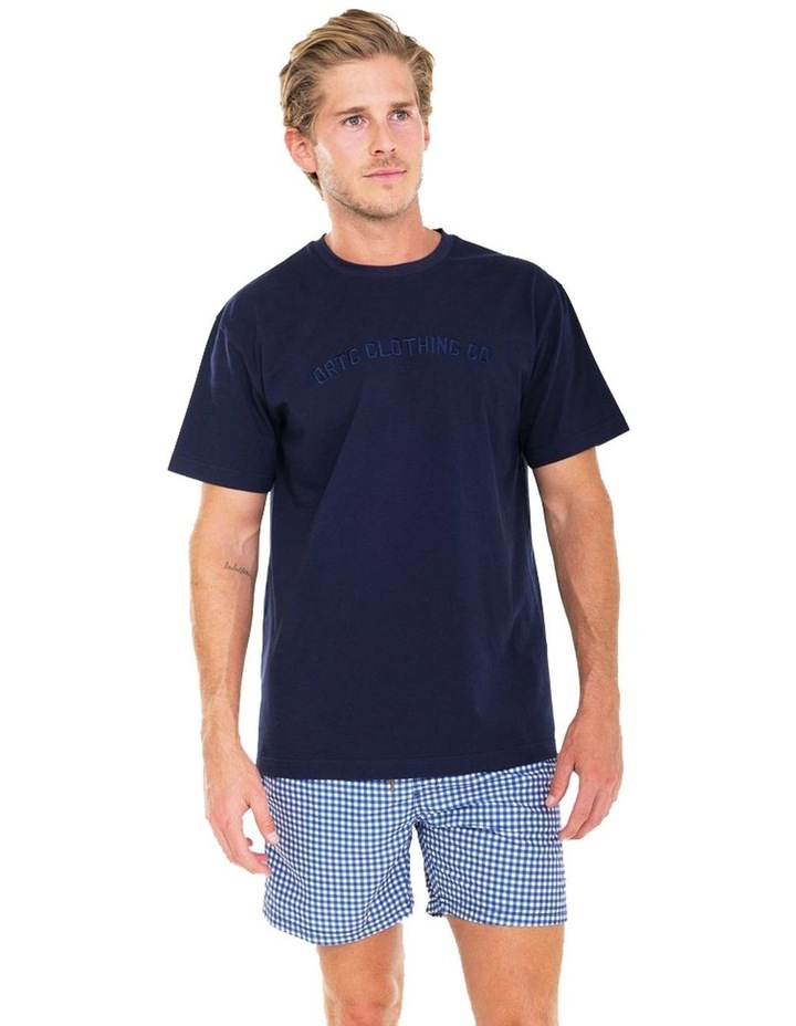 ORTC Original Logo T Shirt Navy image 2