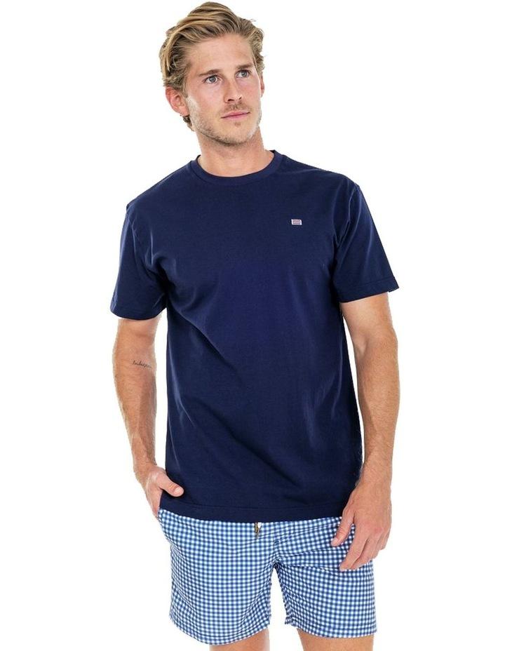 ORTC Flag T Shirt Navy image 1