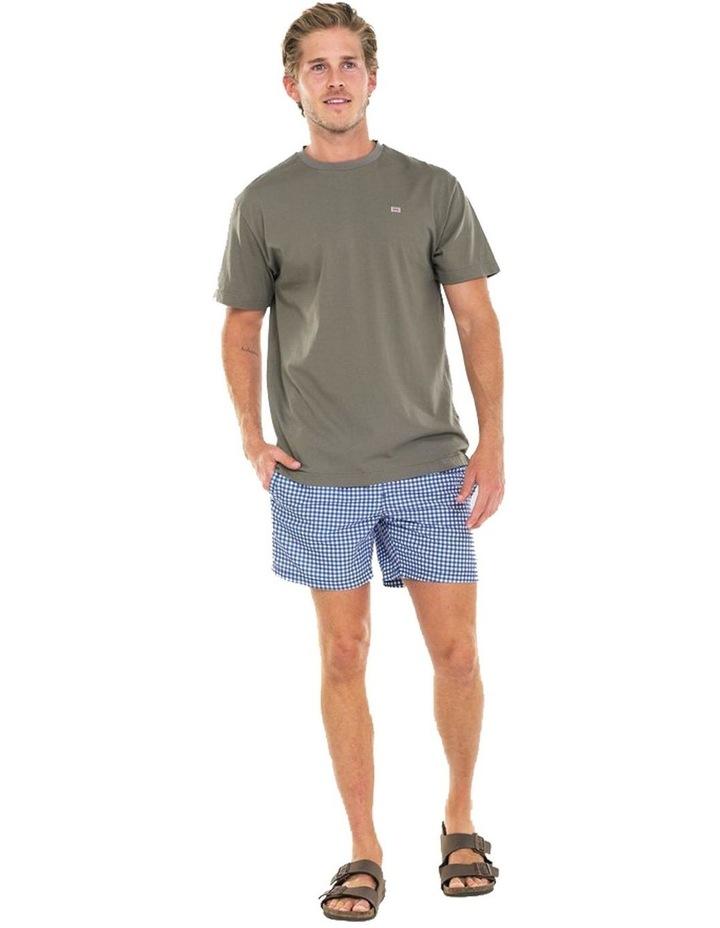 ORTC Flag T Shirt Olive image 1