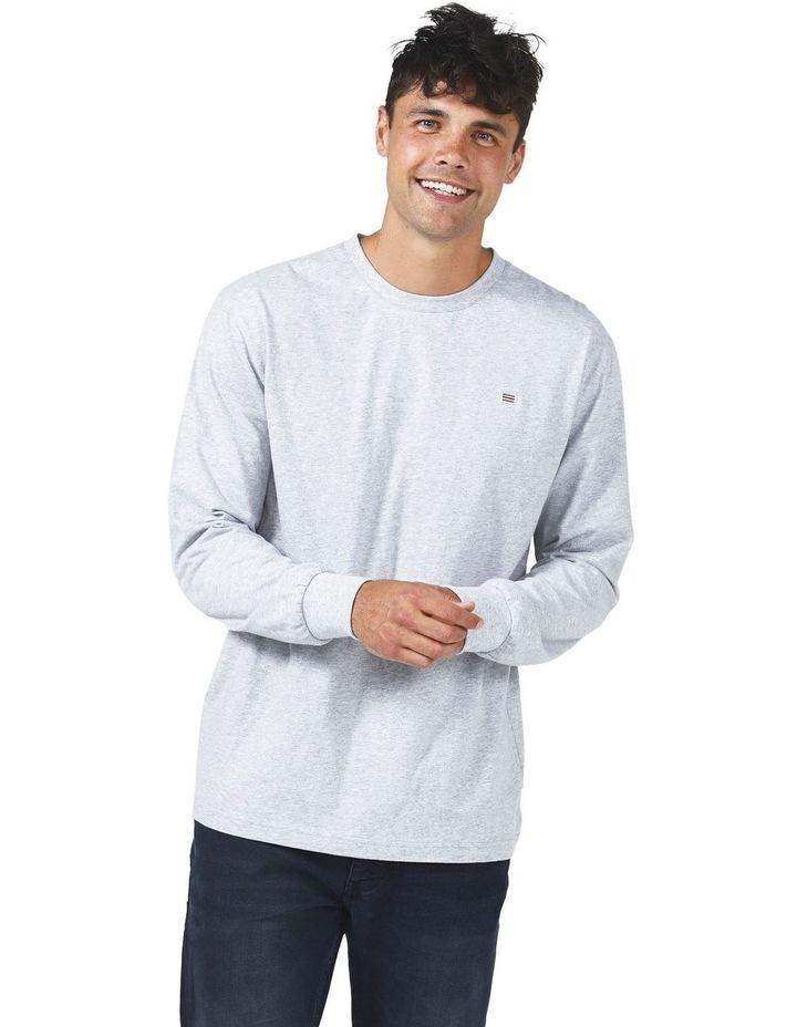 ORTC Flag T Shirt Marle Grey image 1