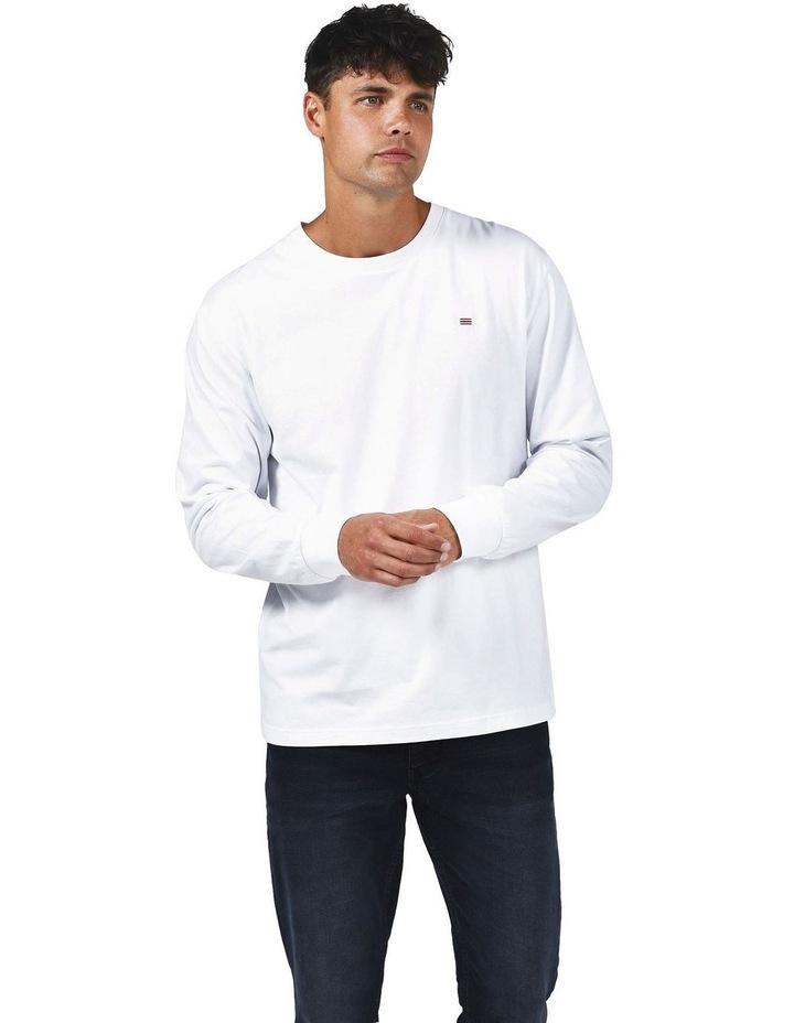 ORTC Flag Long Sleeve T Shirt White image 2