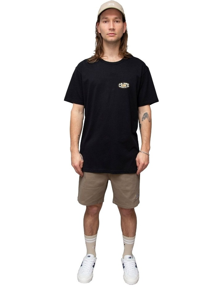 Crate MENS OVAL VARSITY T-SHIRT image 1