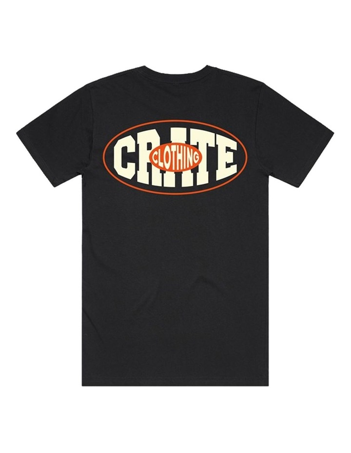 Crate MENS OVAL VARSITY T-SHIRT image 3