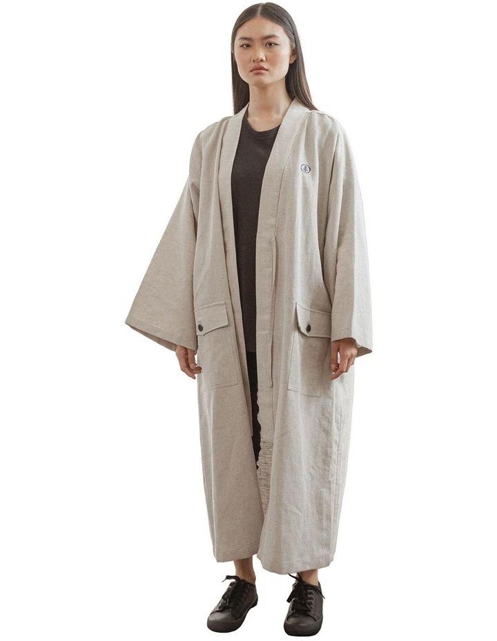 Edo Unisex Long Overcoat image 1