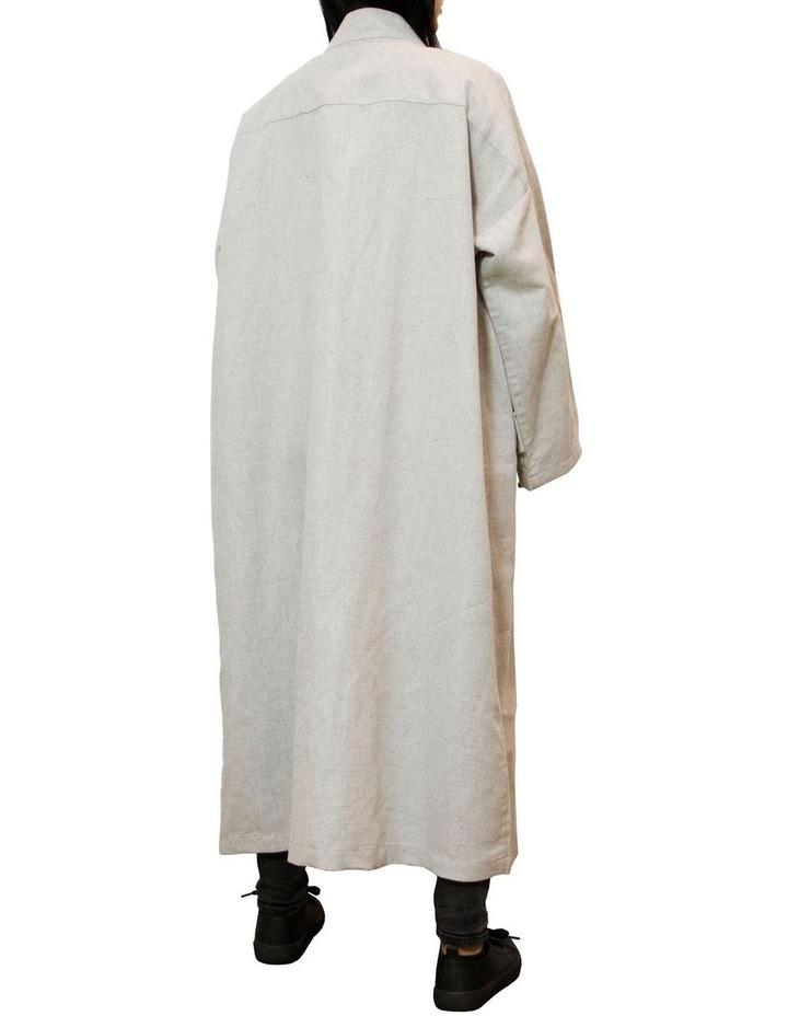 Edo Unisex Long Overcoat image 2