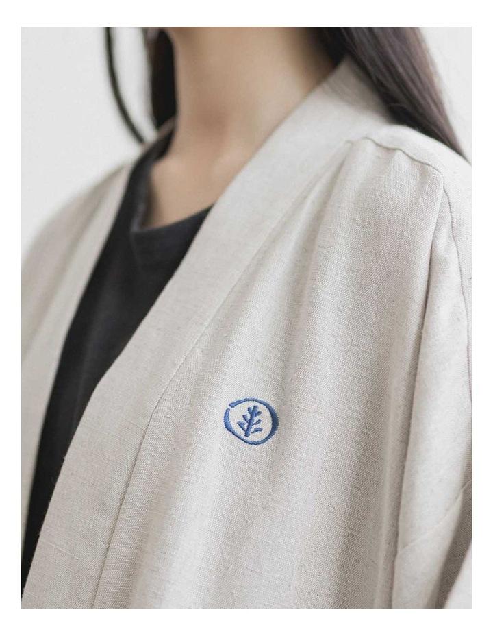 Edo Unisex Long Overcoat image 3