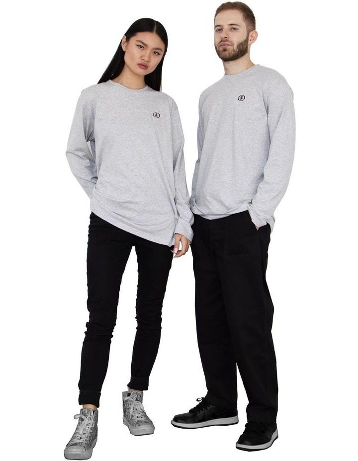 Unisex Organic Cotton Long Sleeve T-Shirt image 2