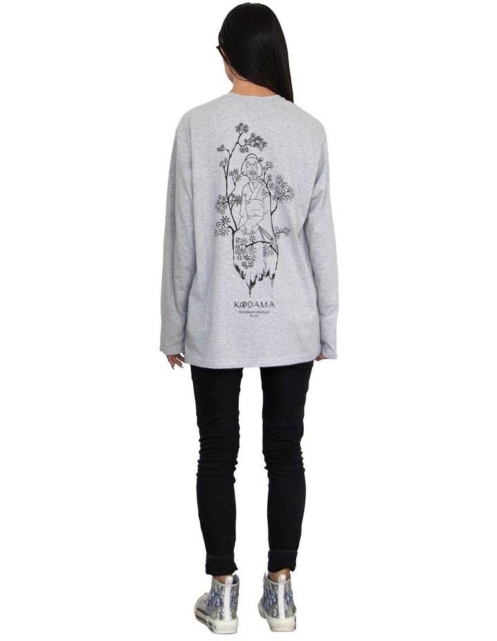 Unisex Organic Cotton Long Sleeve T-Shirt image 3