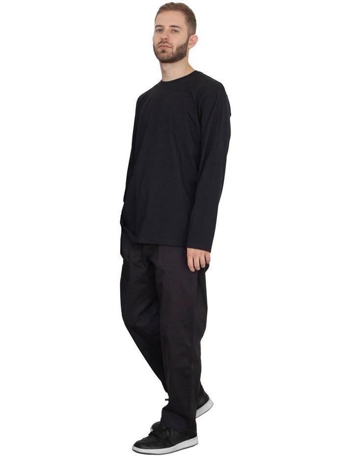 Unisex Long Sleeve Organic Cotton T-Shirt image 1