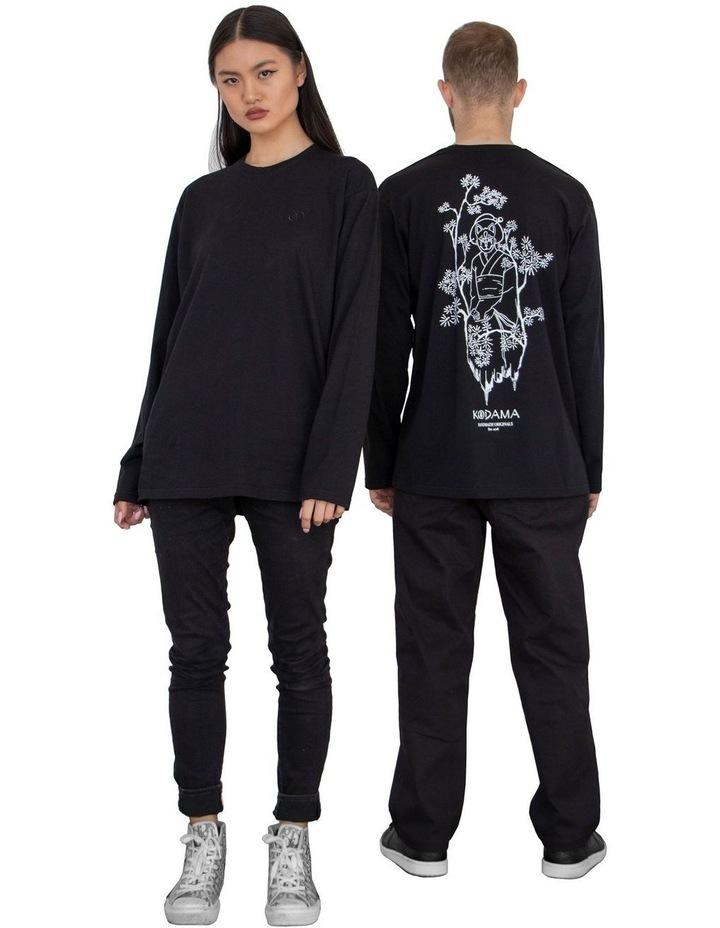 Unisex Long Sleeve Organic Cotton T-Shirt image 2