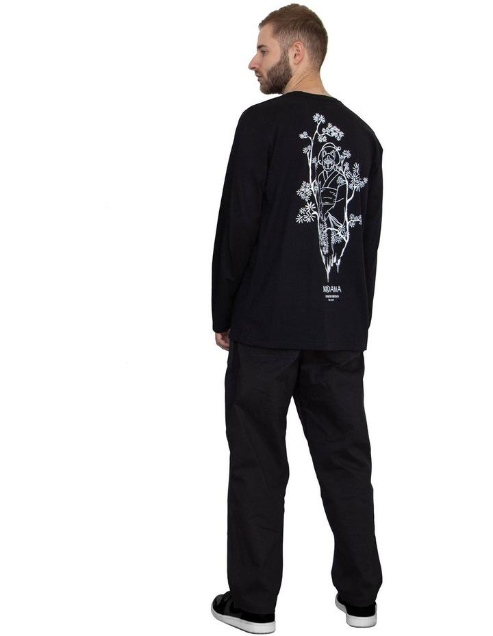 Unisex Long Sleeve Organic Cotton T-Shirt image 3