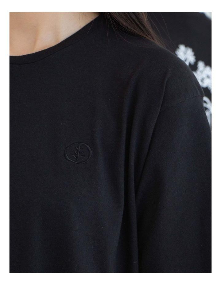 Unisex Long Sleeve Organic Cotton T-Shirt image 4