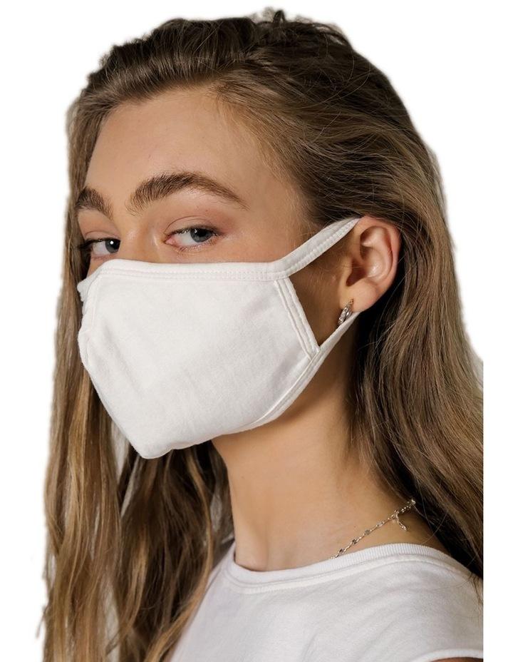 Cotton Jersey mask 5pk image 2