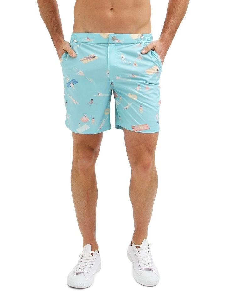 Cabana Boy Blue - Resort Swim Shorts image 1