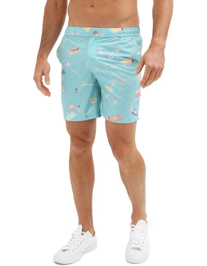 Cabana Boy Blue - Resort Swim Shorts image 2