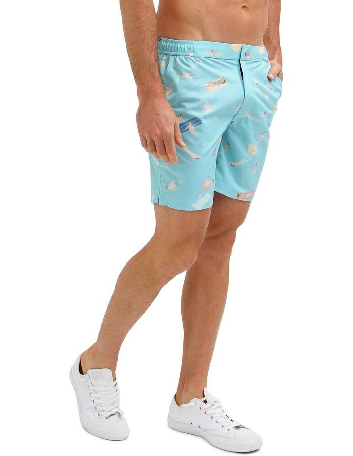 Cabana Boy Blue - Resort Swim Shorts image 3