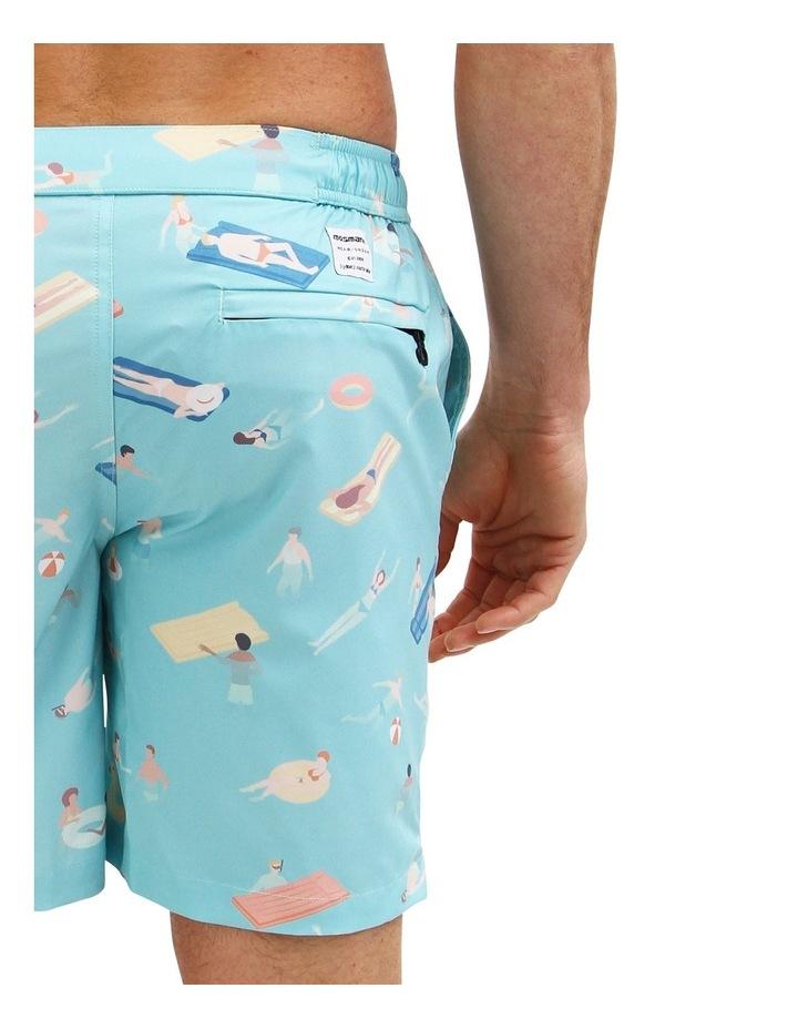 Cabana Boy Blue - Resort Swim Shorts image 4