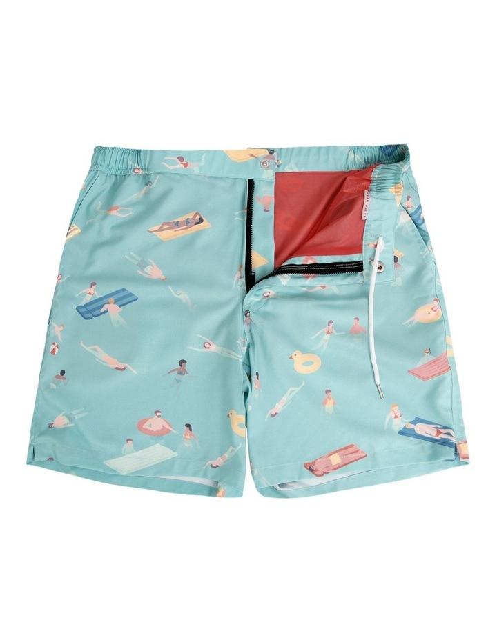 Cabana Boy Blue - Resort Swim Shorts image 5